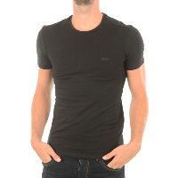 GUESS TEE-SHIRT UNI STRETCH M73I56 NOIR