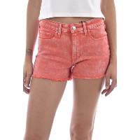 GUESS - Short Taille Haute W91D34D3NE0 SUNKISSED CORAL