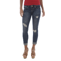 Guess Jean Bleu Skinny Taille Basse W81a27 Medium Wash