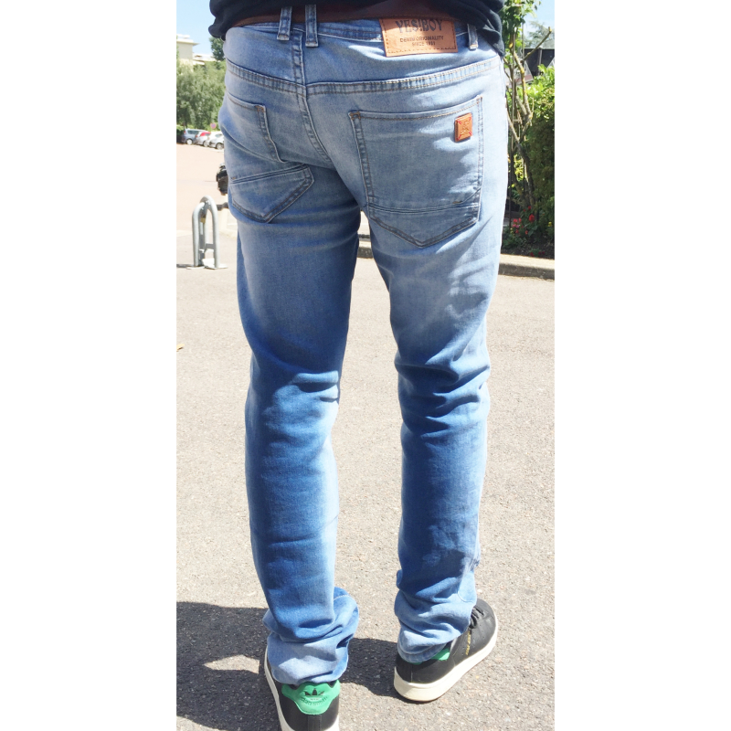 YES BOY JEANS BLEU REGULAR HOMME