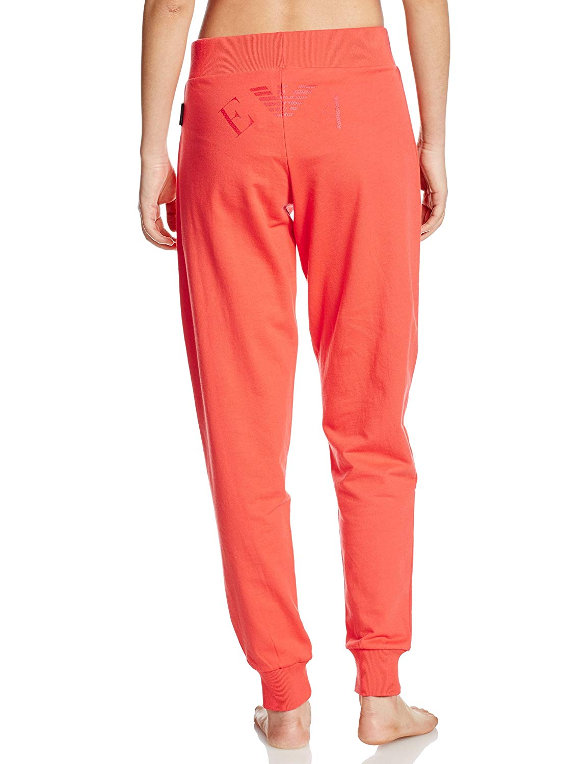 Emporio Armani Ensemble Jogging Orange Loungewear En Coton 163740