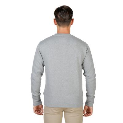 SWEAT SHIRT A MANCHES LONGUES OXFORD UNIVERSITY -FLEECE-CREWNECK-GREY HOMME