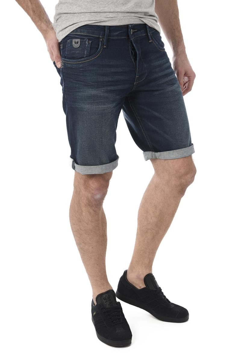KAPORAL BERMUDA VITO DENIM STRETCH BLEU