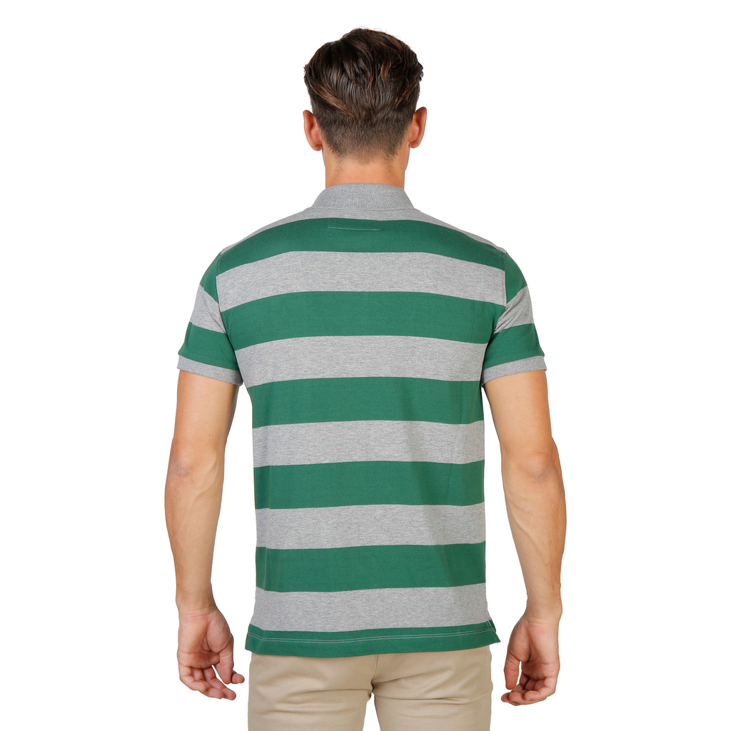 POLO HOMME MANCHES COURTES MAGDALEN RUGBY MM VERT OXFORD UNIVERSITY