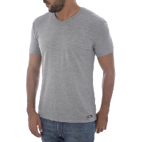 FILA TEE-SHIRT STRETCH GRIS F06I4 MANCHES COURTES POUR HOMME