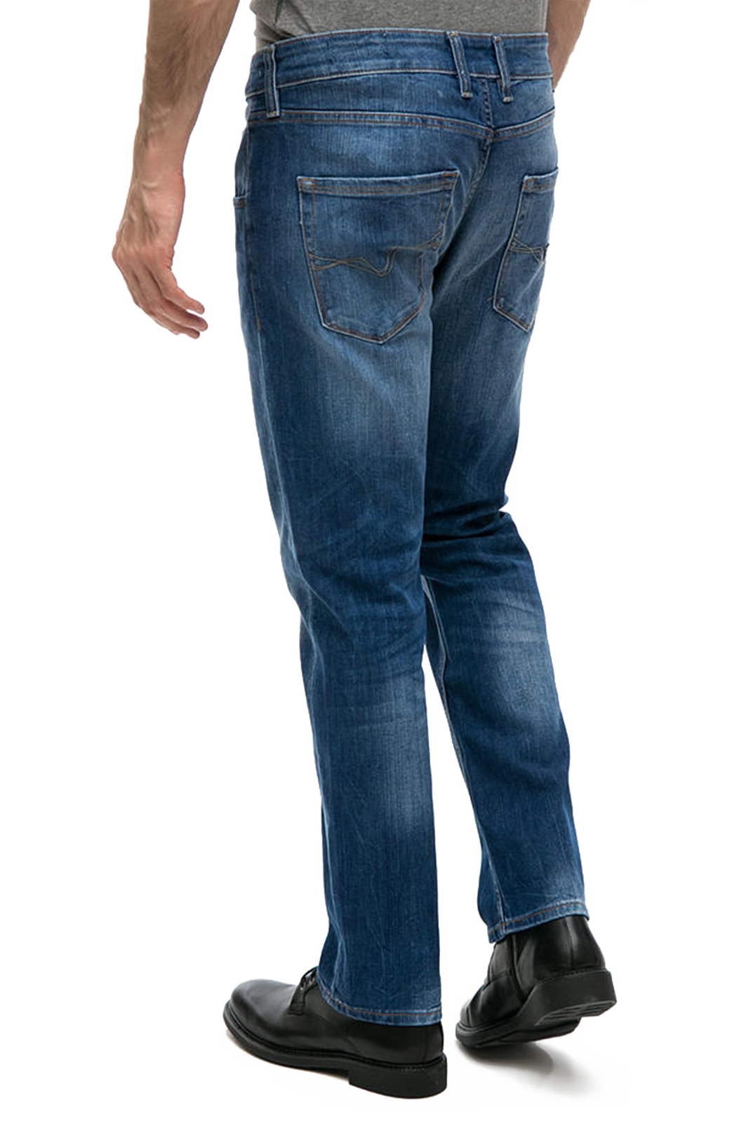 GUESS JEANS SLIM STRETCH  M74AS3 BLEU