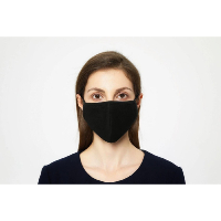 🇫🇷 LOT DE 20 MASQUES / PROTECTION LAVABLE 100% COTON NOIR