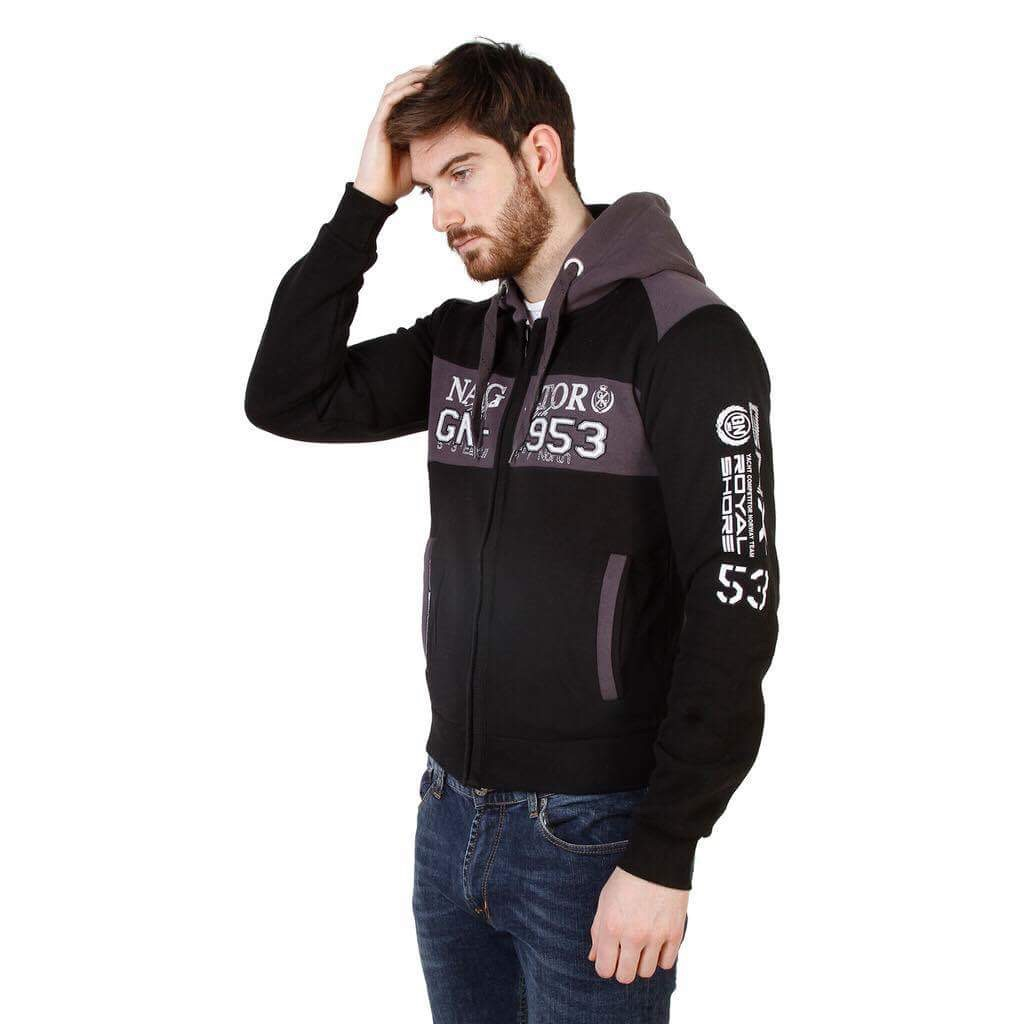 SWEAT GEOGRAPHICAL NORWAY GLAPPING MAN BLACK