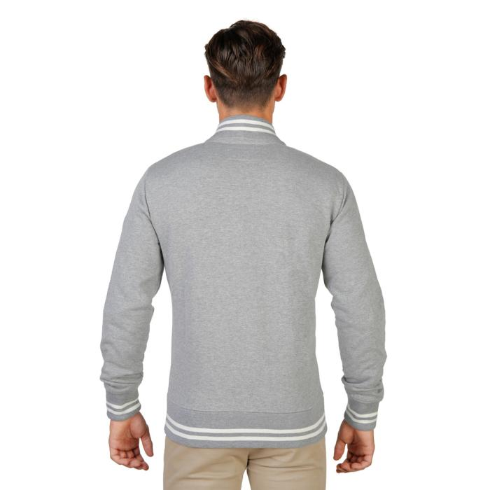 SWEAT-SHIRTS MANCHES LONGUES OXFORD-FLEECE-TEDDY-GREY HOMME