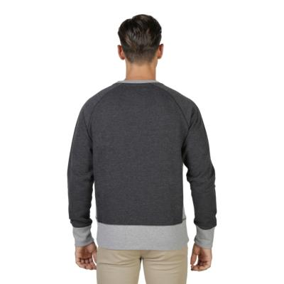 OXFORD UNIVERSITY SWEAT FLEECE RAGLAN GRIS HOMME