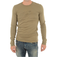 KAPORAL DOCK - PULL VERT A COL ROND POUR HOMME