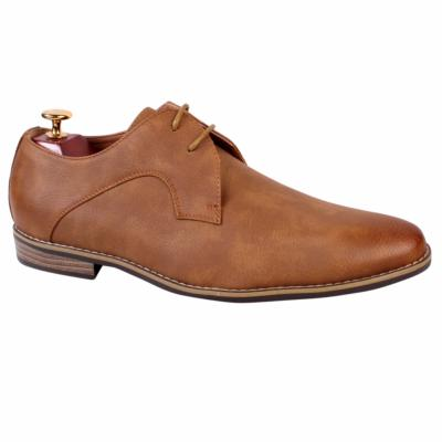 CHAUSSURES HOMME MARRON DOUBLURE CUIR