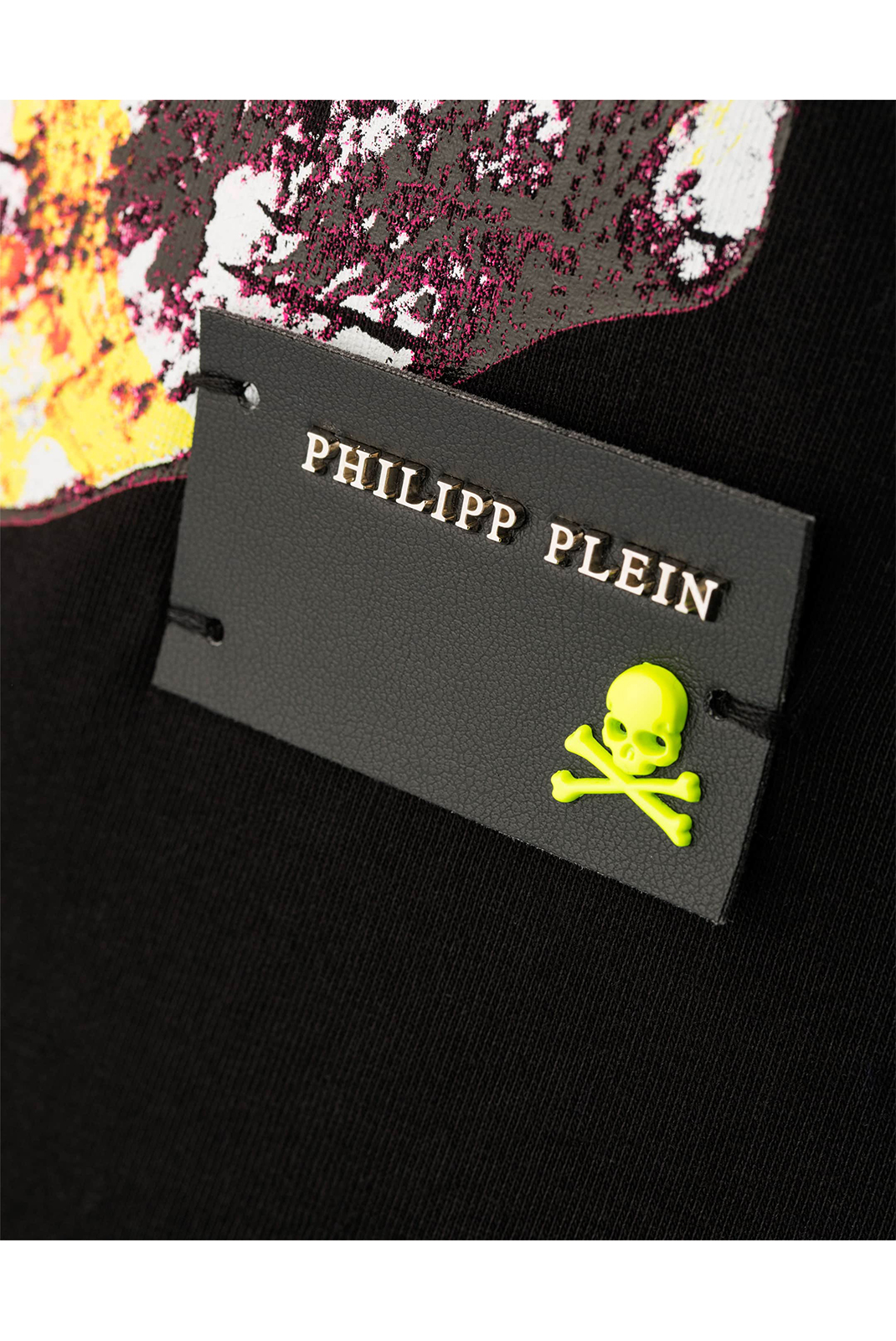 PHILIPP PLEIN TEE-SHIRT MTK1791 ROUND NECK SS NEED YOU HOMME