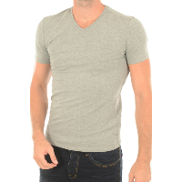 T-SHIRT GUESS M73I55 MANCHES COURTES UNI STRETCH GRIS