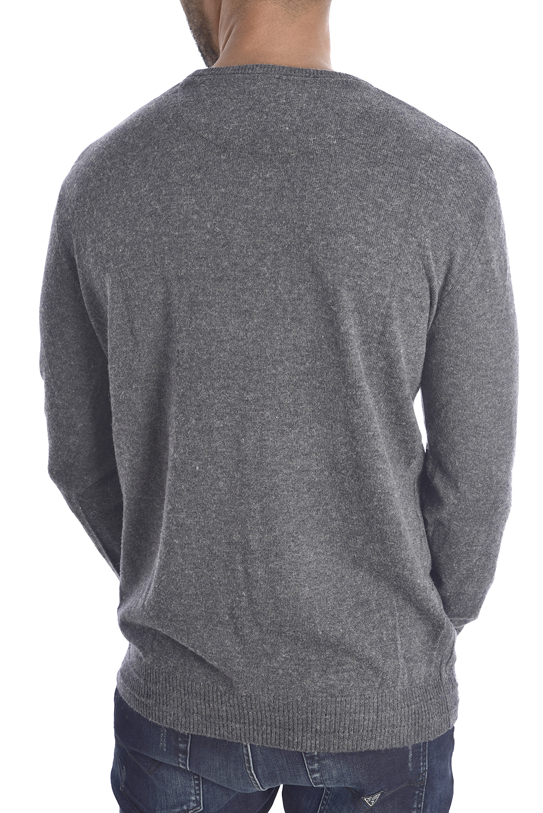 GUESS PULL M94R52 Z2HK0 LOGO GRIS HOMME