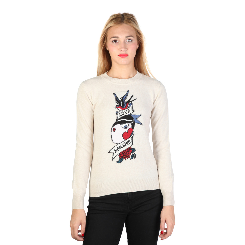 PULL FEMME LOVE MOSCHINO - W_S_9G1_00_X_0297