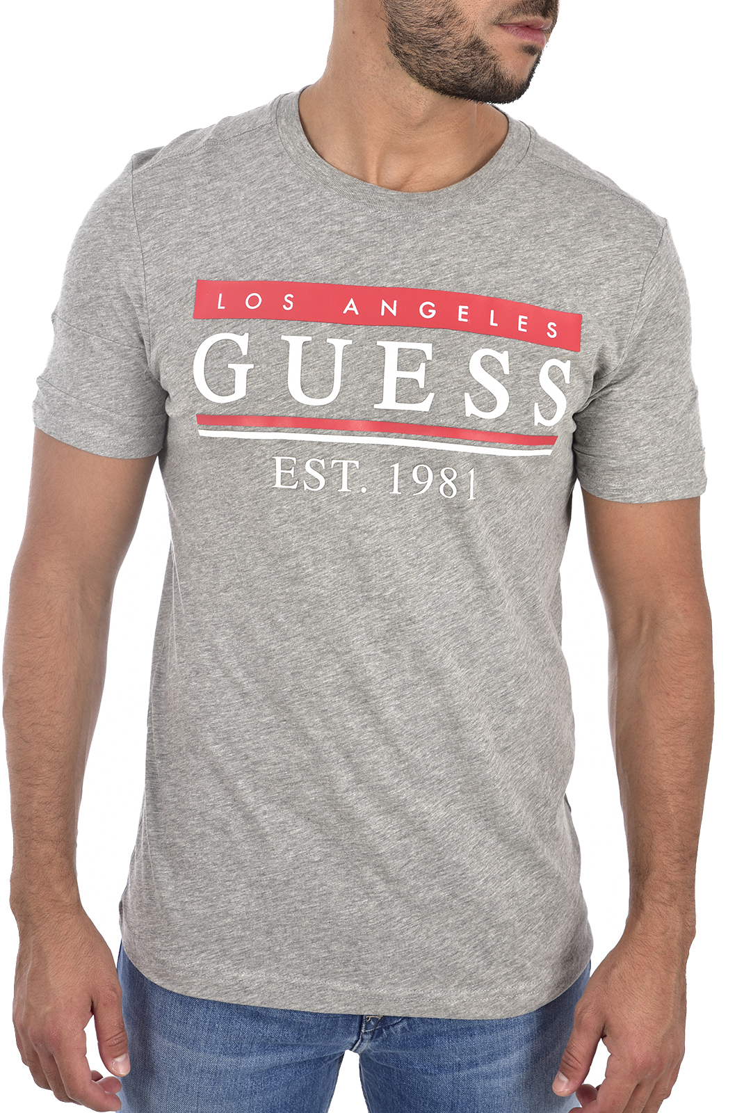 t-shirt homme guess