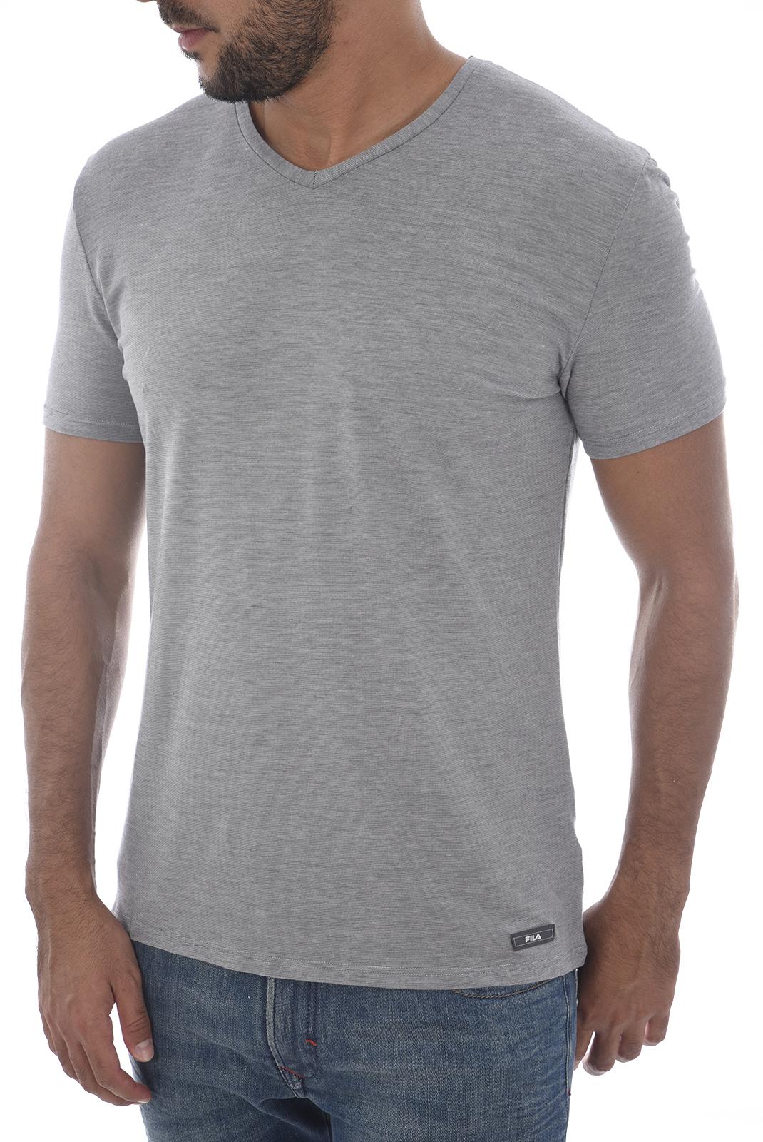 Fila Shirt Homme Gris Stretch F06i4 Tee jUpLqGSzVM