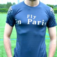 MAILLOT FLY IN PANAME BLEU BLANC