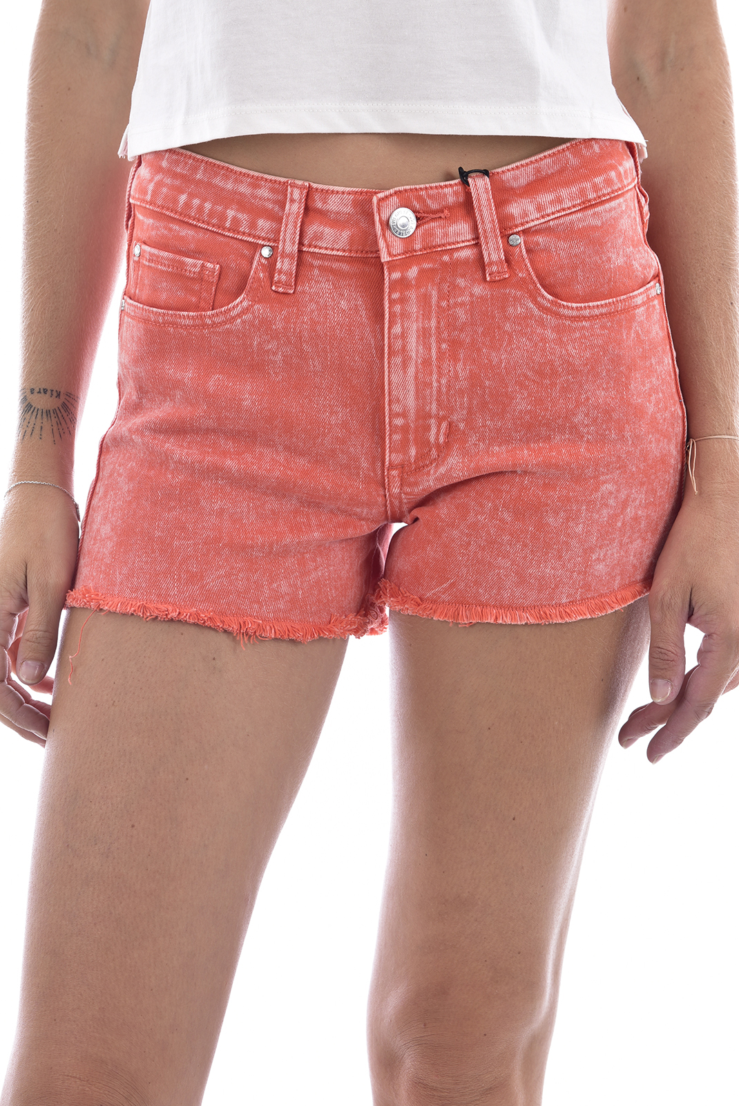 Guess Short Coral Taille Haute W91d34d3ne0 Sunkissed