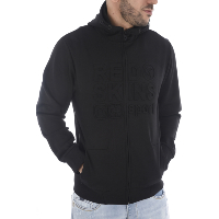 REDSKINS SWEAT A CAPUCHE SIDER STAPLES NOIR HOMME