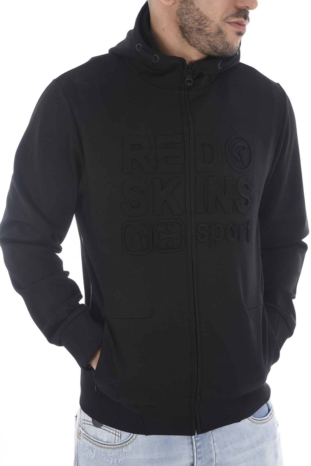 sweat a capuche redskins homme