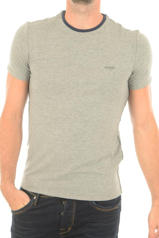 TEE-SHIRT GUESS M74I71 GRIS MANCHES COURTES HOMME