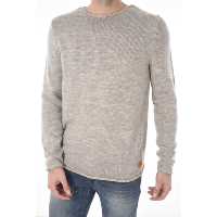 JACK AND JONES ALEX KNIT CREW NECK - PULL FIN CONFORTABLE HOMME