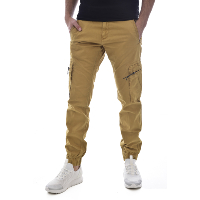 KAPORAL PANTALON MULTIPOCHES CHEVILLES ELASTIQUEES GIPSY JAUNE HOMME