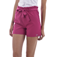 Guess Jeans Short Taille Haute Rose W72d76wbed9