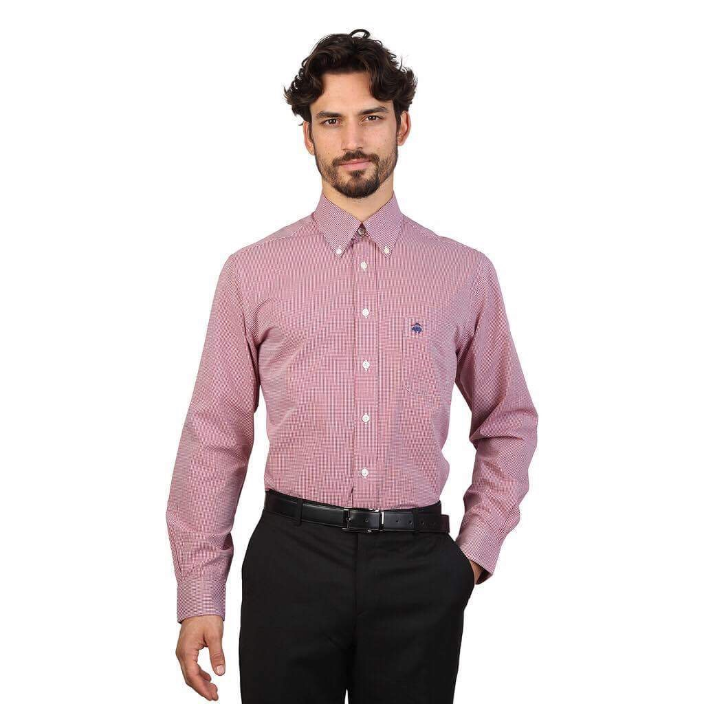 CHEMISE BROOKS BROTHERS 100038621 ROSSO