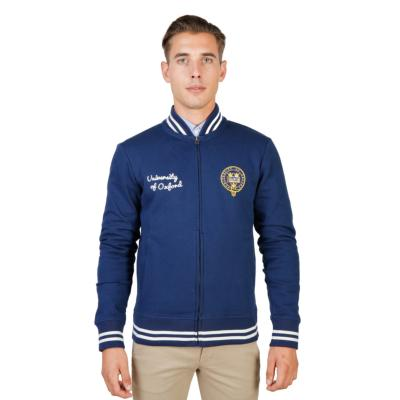 OXFORD UNIVERSITY - SWEAT FLEECE TEDDY BLEU HOMME