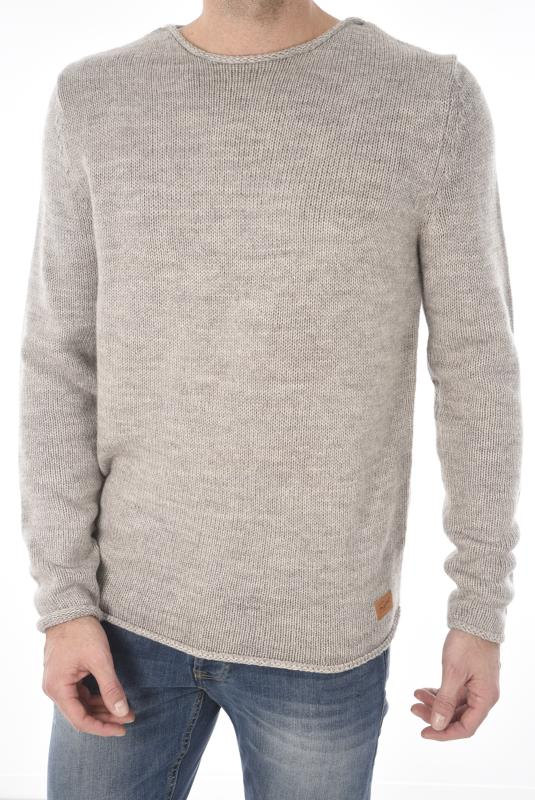 JACK AND JONES PULL FIN ALEX KNIT CREW NECK
