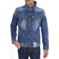 G-STAR VESTE ZIPEE DENIM STRETCH D01437 - 6564 - 071 ARC BLEU HOMME
