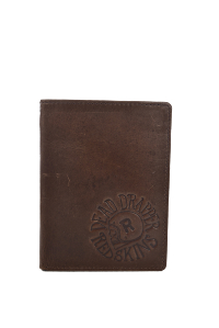 REDSKINS PORTEFEUILLE GHOST MARRON HOMME