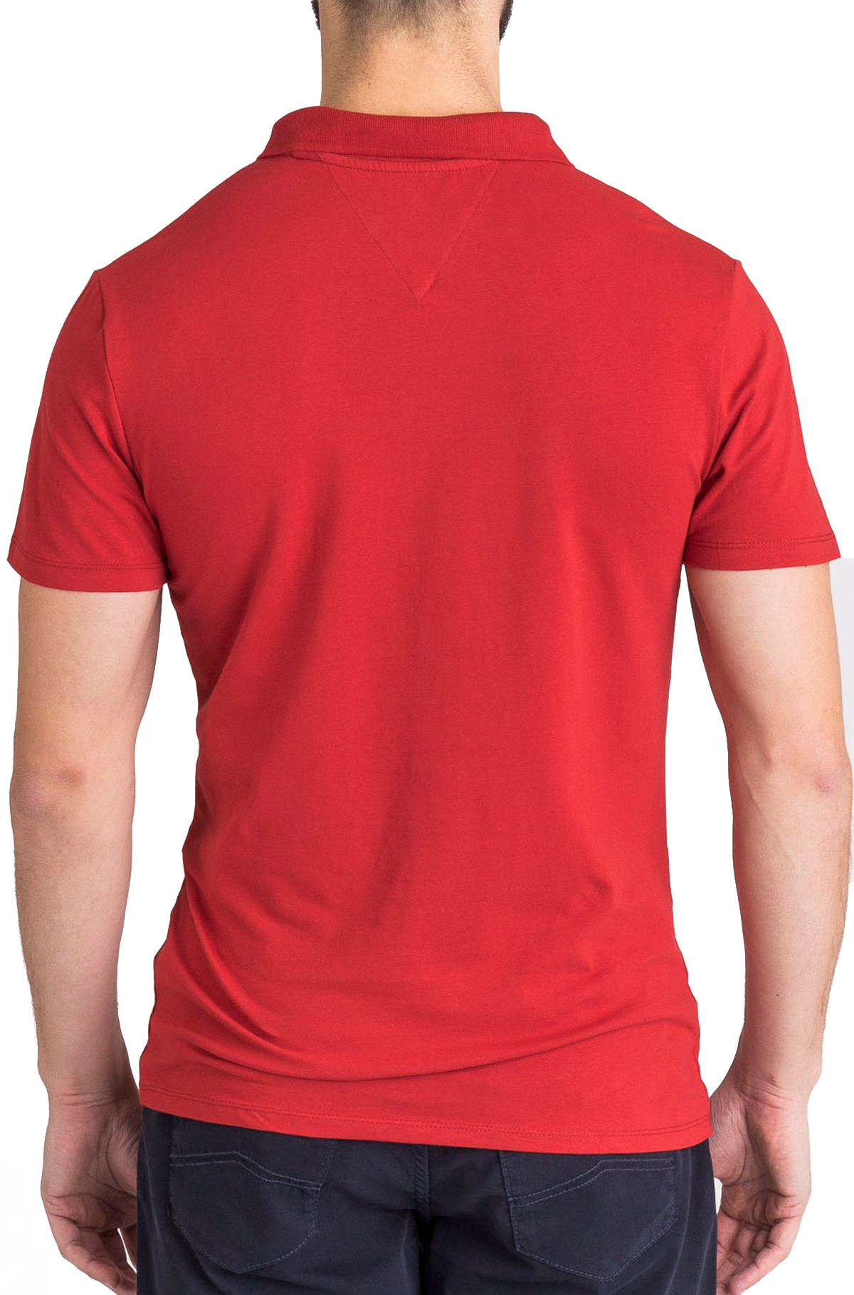 GUESS JEANS POLO MANCHES COURTES M92P18 ROUGE HOMME