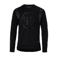PHILIPP PLEIN SWEAT MJO0229 STAR OF NOIR HOMME