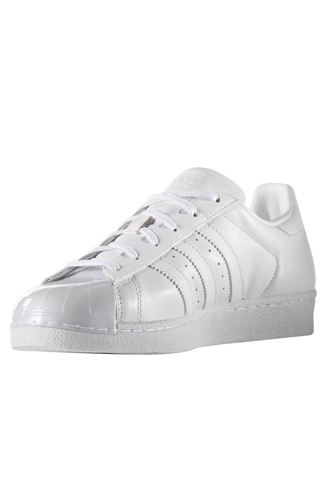 ADIDAS ORIGINAL BB0683 SUPERSTAR GLOSSY TOE W BLANC FEMME