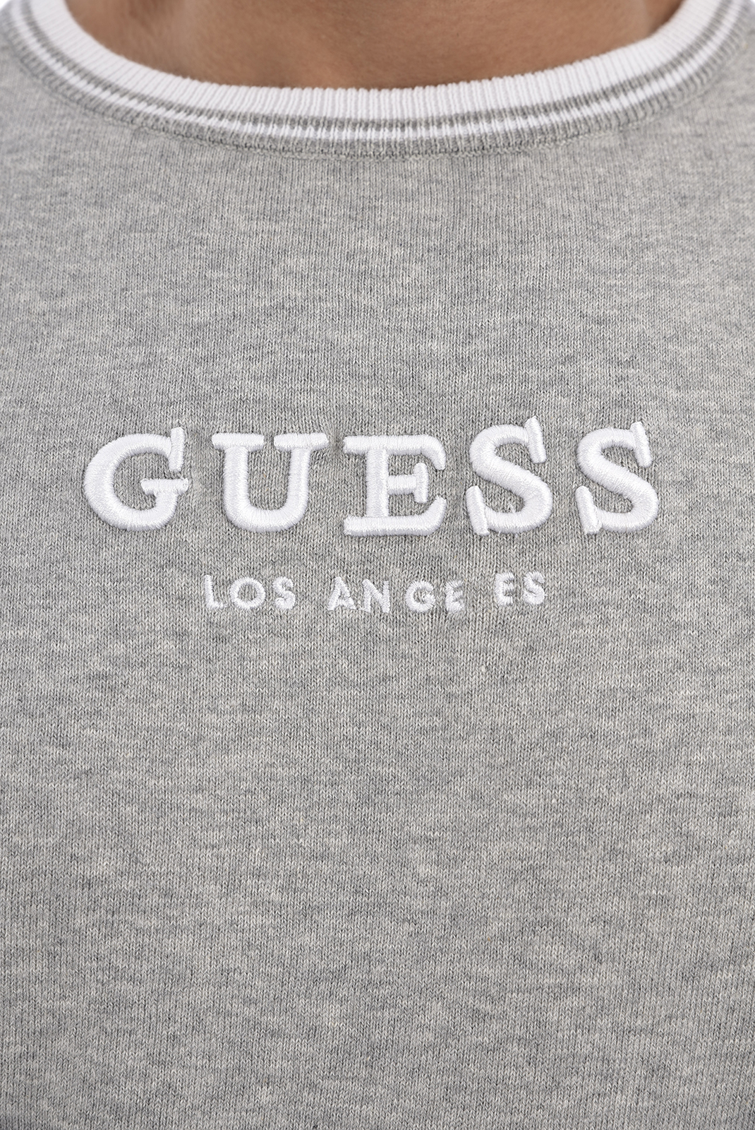GUESS PULL GRIS M0GR07 Z2NO 0LS RN AARON HOMME