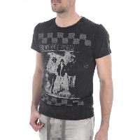 PEPE JEANS TEE-SHIRT EFFET VINTAGE RIDER