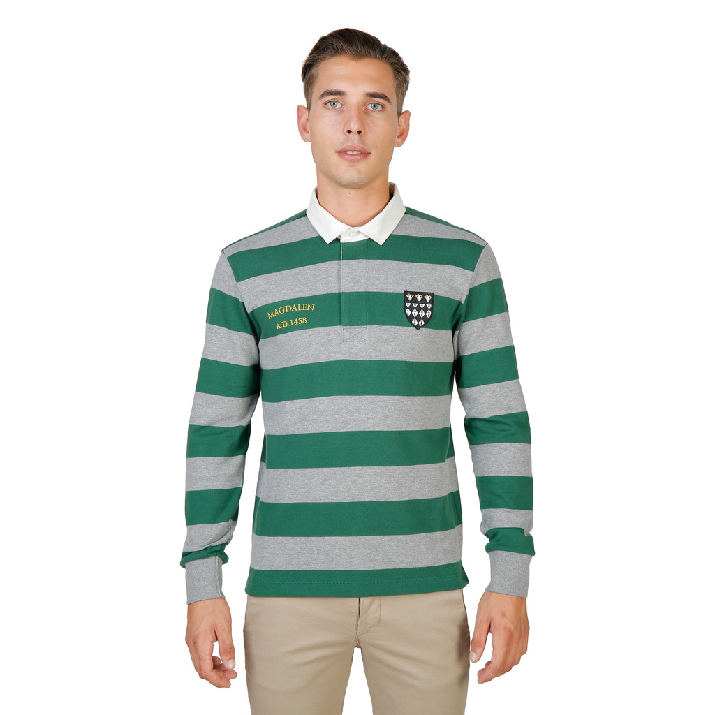 POLO HOMME OXFORD UNIVERSITY MAGDALEN-RUGBY-ML-GREEN