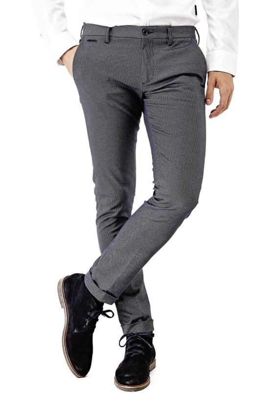 PANTALON GUESS HOMME CHINO COTON STRETCH M73B29 DANIEL